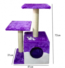 Purple Cat tree